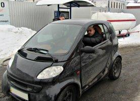 гбо на Mercedes Smart Fortwo