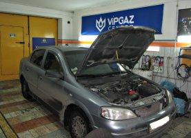 гбо на Opel astra 1.6