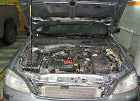 газ на Opel astra 1.6