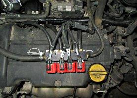 Opel astra 1.6 на газу