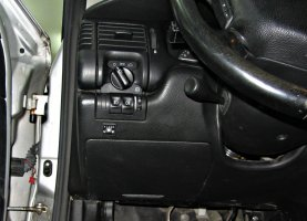 Кнопка переключения газ-бензин Opel Omega B 2.0