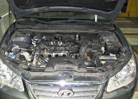 Hyundai Elantra 1.6 на газу
