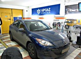 гбо на Mazda 3 Black
