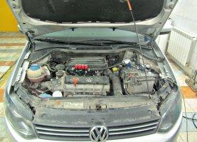 газ на VW Polo 1.4