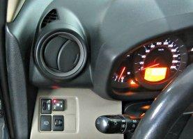Кнопка переключения с газа на бензин на Toyota Rav4