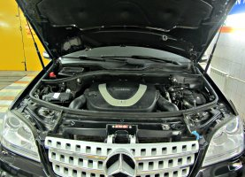 гбо на Mercedes-Benz ML 350 Black