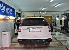 газ на Honda CR V 2.4