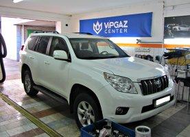 гбо на Toyota Prado 150 2.7