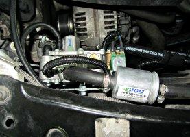 Skoda Octavia 1.6 MPI на газу