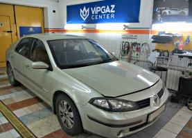 гбо на Renault Laguna 2.0T