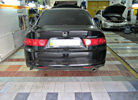 гбо на Honda Accord Black