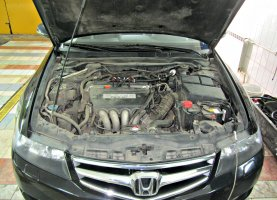 Honda Accord Black на газу