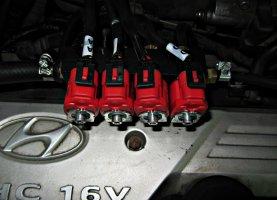 Hyundai Getz на газу