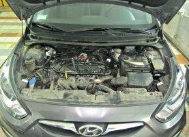 газ на Hyundai Elantra