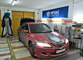 гбо на Mazda 6 Red