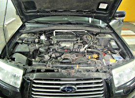 газ на Subaru Forester 2.5