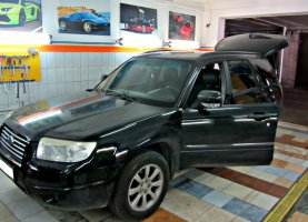 гбо на Subaru Forester 2.5