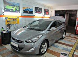 гбо на Hyundai Elantra