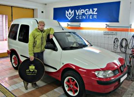 гбо на VW Caddy 1.6