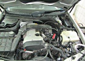 Mercedes Benz E220 на газу