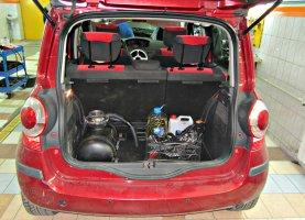 газ на Renault Scenic 1.6