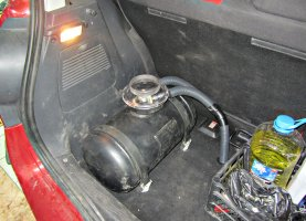 Renault Scenic 1.6 на газу
