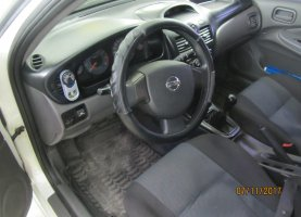 Nissan Almera 1.6 на газе