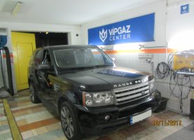 газ на land Rover Range Rover SuperCharged 4.2