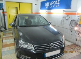 VW Passat B8 на газу