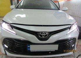 Toyota Camry v70 2.5 (2019) с гбо