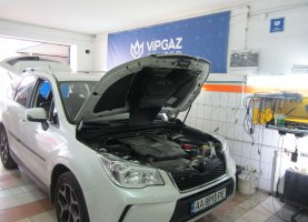 Subaru Forester 2016 год (2.0T прямой впрыск) на газе