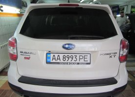гбо на Subaru Forester 2016 год (2.0T прямой впрыск)