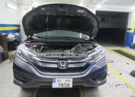 газ на Honda CR-V 2016 год (прямой впрыск)