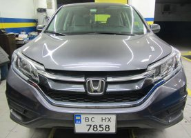 Honda CR-V 2016 год (прямой впрыск) на газу