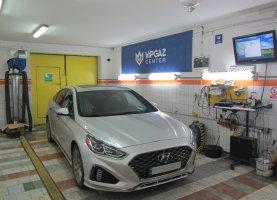 гбо на Hyundai Sonata 2.4GDI