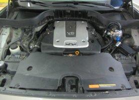 газ на Infiniti FX35 3.5