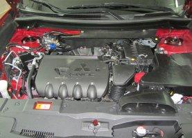 газ на Mitsubishi Outlander 2.4