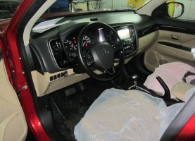 Mitsubishi Outlander 2.4 на газе