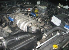 газ на Land Cruiser 100 4.7