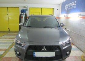 гбо на Mitsubishi Outlander new