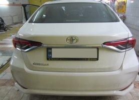 Toyota Corolla с гбо