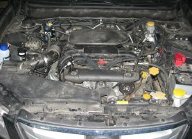 газ на Subaru Outback 2.5