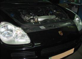 газ на Porsche Cayenne