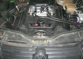 газ на VW Passat 3.0