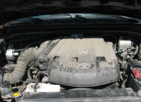 Toyota FJ cruiser на газе