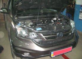 гбо на Honda CR-V