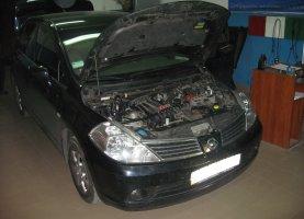 гбо на Nissan Tiida