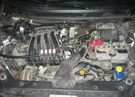 газ на Nissan Tiida