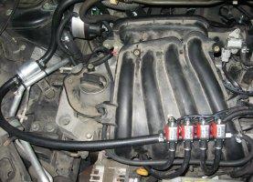 Nissan Tiida на газу
