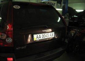 гбо на Volvo XC90
